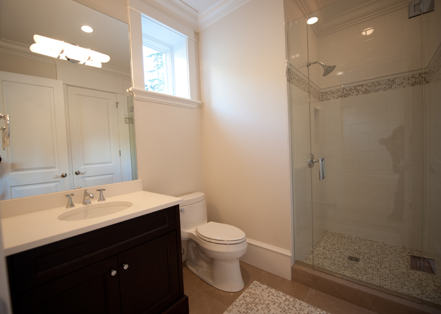 Adjoining Basement Bathroom